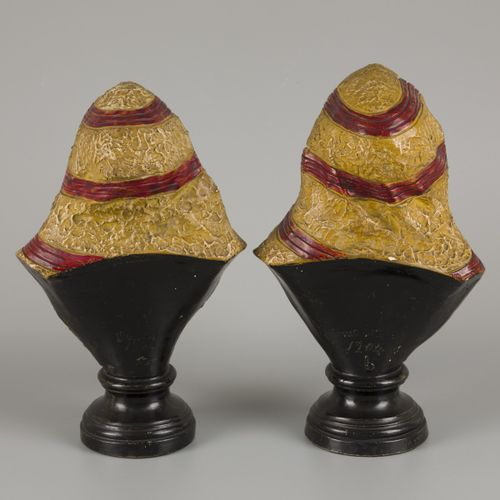 Guillaume dit William Guérin (1838 1912) et Cie, A set of (2) Oriental busts, a …