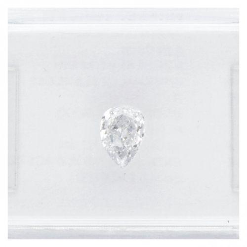 IGI Certified Variation Pear Cut Natural Diamond 0.24 ct. Gewicht: 0,24 ct. (5,2…