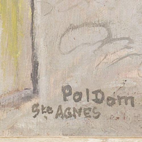 "Paulus Ludovicus Carolus ""Pol"" Dom (Antwerpen 1885 1968 Den Haag), Street scene …"