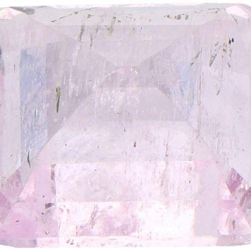 ITLGR Certified Natural Kunzite Gemstone 11.25 ct. Corte: Octógono/Paso, Color: …