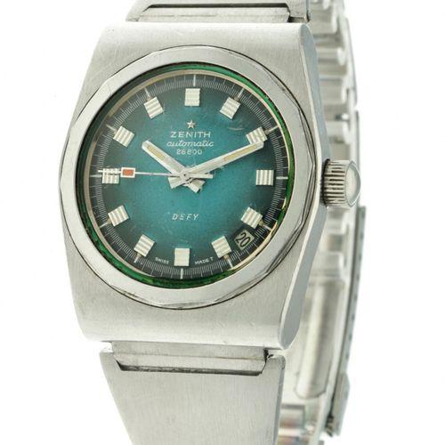 Zenith Defy Men's watch apprx. 1970. Gehäuse: Stahl Armband: Stahl Automatik let…