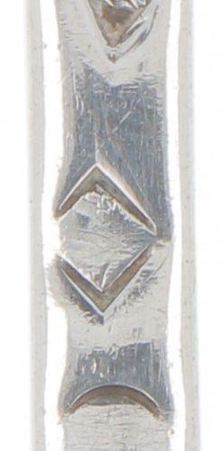 Sprinkler spoon silver. Schlankes Modell mit schöner durchbrochener Schaufel. Fr…