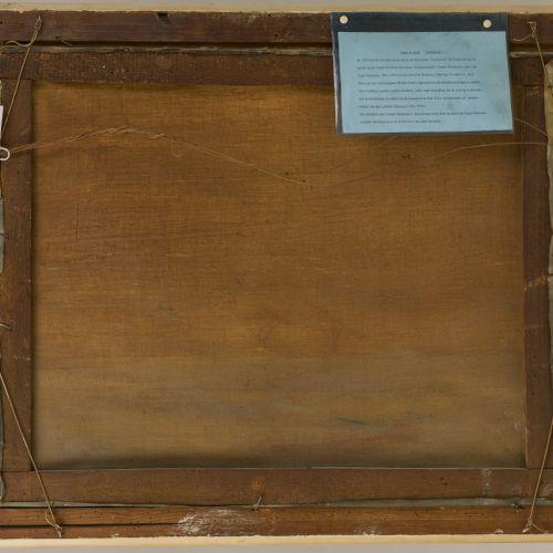 "Dutch School, ca. 1930. A three master in distress. Signé (en bas à droite) ""A .…"