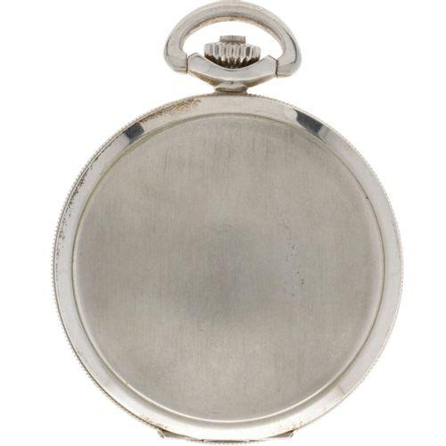 Savonette Anchor Escapement Men's pocket watch apprx. 1950. Gehäuse: Silber (835…