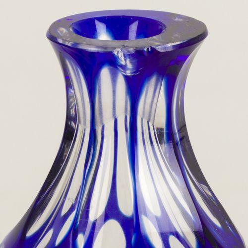 (2) Bohemian vases Début du 20e siècle, 2 éclats sur le col. H 13,5 cm. Estimati…