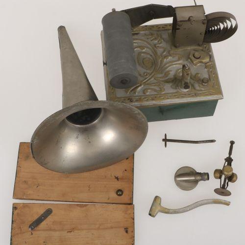 An Art Nouveau music box (restoration object), France(?), ca. 1900. Null