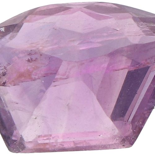 GJSPC Certified Natural Amethyst Gemstone 4.11 ct. Corte: Fancy Mixed, Color: Pú…
