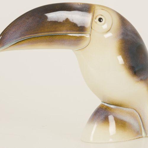 "Ljubisa Misic, a porcelain ""Goebel"" figurine of a toucan, West Germany, 2nd half…"