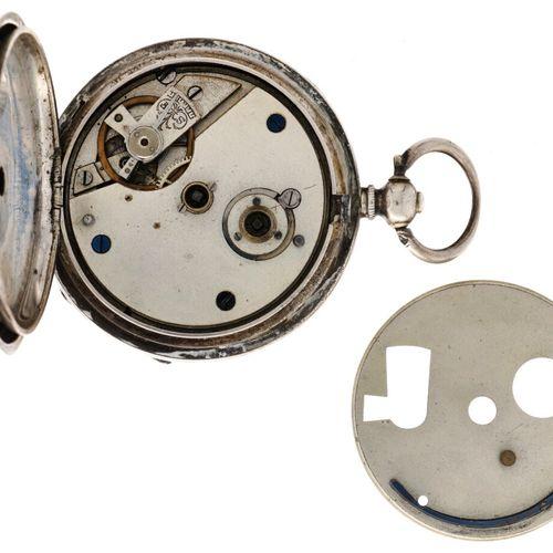 London Echappement Cylindre Men's pocketwatch approx. 1880. Caja: plata (935/100…