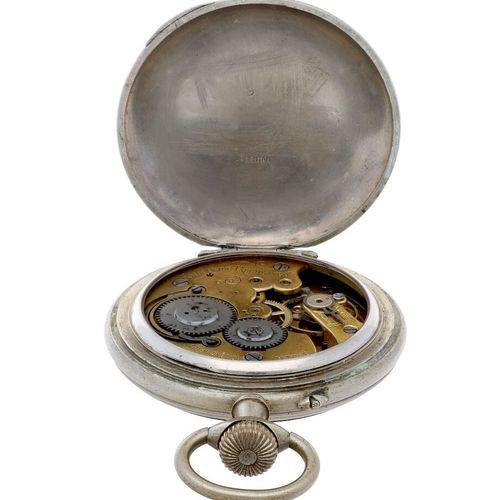 Automobile Regulateur Steel Anchor Escapement Men's pocketwatch approx. 1900. Ca…