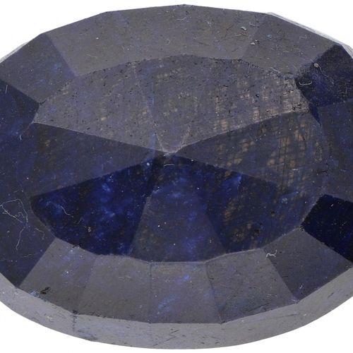 GLI Certified Natural Sapphire Gemstone 289.000 ct. Corte: Mixto ovalado, Color:…