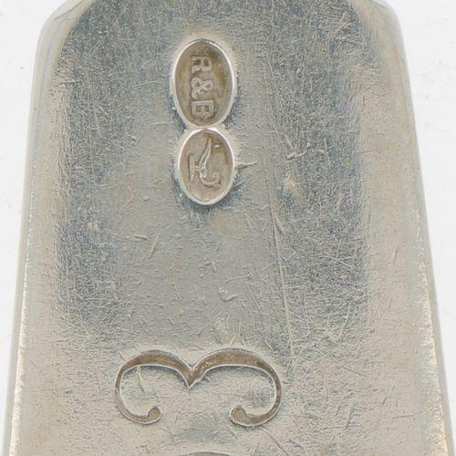 Spoon (Germany Robbe & Berking 19th century) Alpacca. Spatel Modell. Deutschland…
