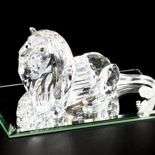 "Swarovski annual item 1995 ""Inspiration Africa"" The Lion 包括一个镜板,状况良好。估计:10 40欧元。"