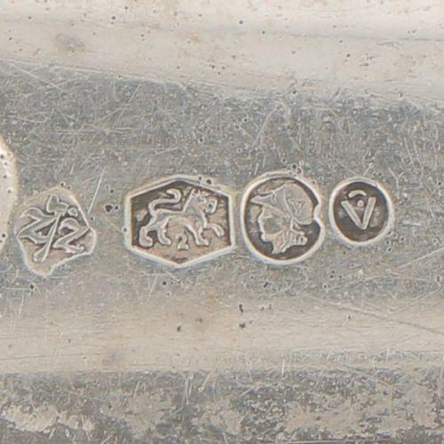 (2) piece lot with silver letter openers. Modelos bellamente ejecutados, 1 en fo…