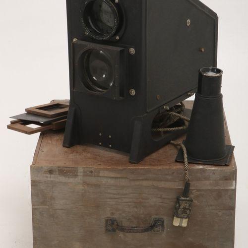 An Epidiascope, Germany, 1st half 20th century. Marqué : Liesedang Dusseldorf.