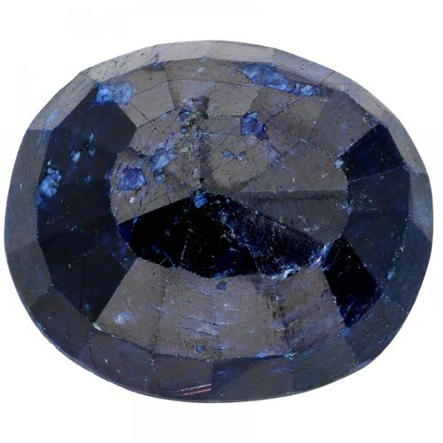 IDT Certified Natural Sapphire Gemstone 51.78 ct. Taille : Ovale mixte, Couleur …