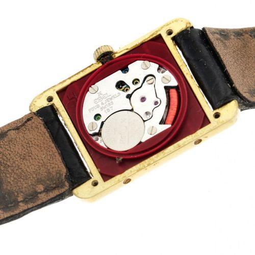 Cartier Tank Must Vermeil 5057001 Ladies watch approx. 1995 Gehäuse: Silber (925…