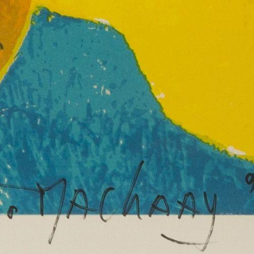 "Theo Mackaay (Geb. Utrecht 1950), Reclining figure. 签名,日期 ""94""(铅笔右下),编号 ""H.R. 10…"