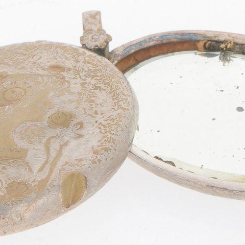 (7) piece lot miscellaneous silver. Bestehend aus verschiedenen Dosen, Salzstreu…