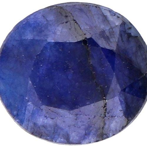 GJSPC Certified Natural Sapphire Gemstone 7.79 ct. Schliff: Oval gemischt, Farbe…