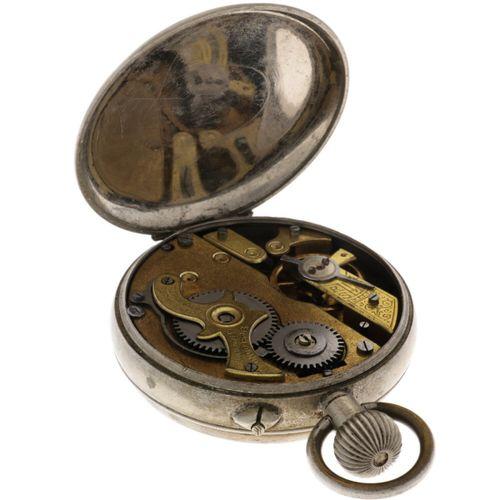 Motor Regulator Anchor Escapement Men's pocketwatch approx. 1900. Boîtier : acie…