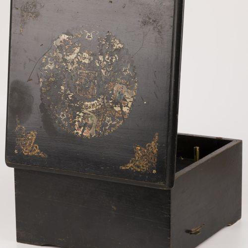 "A ""Symphonion"" music box/ polyphone/ organette, Germany, ca. 1880. Mit verschied…"
