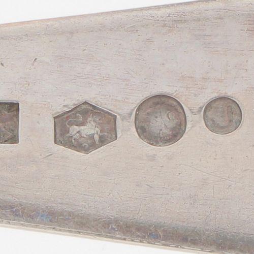 """(6) piece set of spoons """"Haags Lofje"""" silver. Ausgeführt in """"Haags Lofje"""". Niede…"""