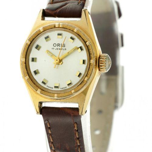 Oris Big Crown Ladies watch apprx. 1990. 表壳: 镀金 表带: 真皮 手动上链 状态: 良好 直径: 21 mm 手腕尺…