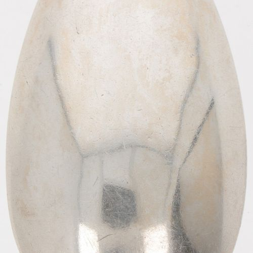 "Spoon (Brussels Joannes Baptiste Tielemans 1794) silver. ""Gevleugeld Lof"" oder G…"