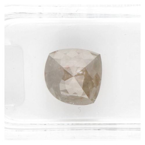 AIG Certified Modified Pear, Rose Cut Natural Diamond 2.58 ct. Peso: 2,58 quilat…
