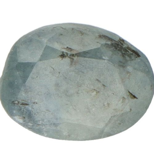 GLI Certified Natural Blue Sapphire Gemstone 1.550 ct. Corte: Mixto ovalado, Col…