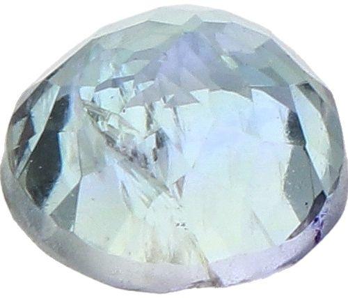 IDT Certified Natural Tanzanite Gemstone 1.25 ct. Schliff: Rund gemischt, Farbe:…