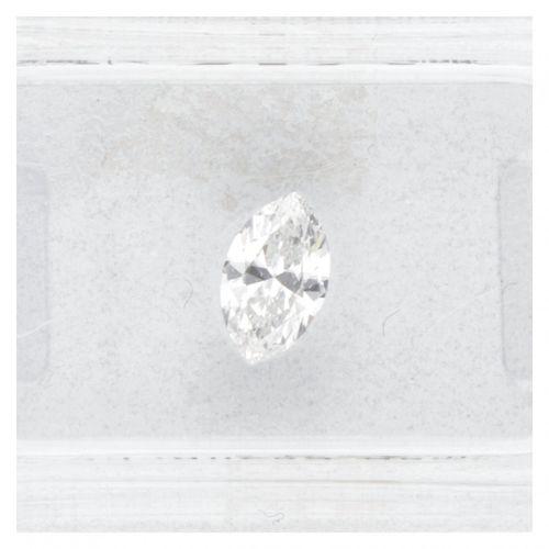 AIG Certified Marquise Cut Natural Diamond 0.50 ct. Peso: 0,50 ct (4,23 x 7,15 x…