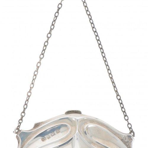 Ball bag silver. Con formas decorativas Jugendstil. Reino Unido, Birmingham, 191…
