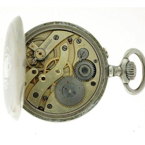 Echappement Cylindre Steel Men's pocketwatch approx. 1910. Caja: acero cuerda ma…