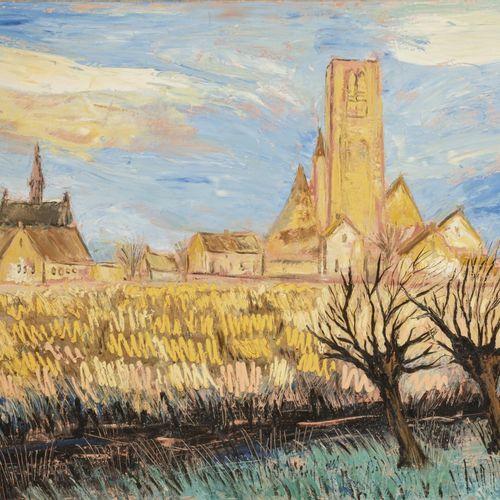 Bitia Rosendor (Jerusalem ? 2013 Brussels), A small village amidst the cornfield…