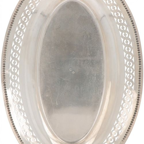 (2) piece lot of silver dishes. Modelos de forma ovalada, 1 calado. Francia / Pa…