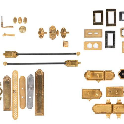 From a prestigious Parisian Palace Very important lot of hotel hardware, materia…