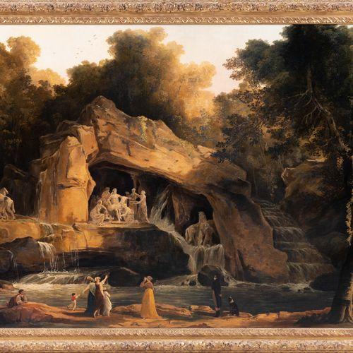 "From a prestigious Parisian Palace In the taste of Hubert Robert, ""Le Bosquet de…"