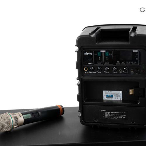 En provenance de l'ancien siège de GUERLAIN MIPRO Portable Wireless PA System, s…