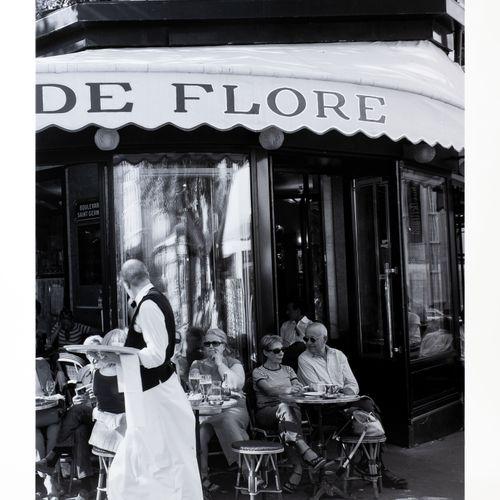 """En provenance de l'ancien siège de GUERLAIN Impression photographique """"Café de F…"""