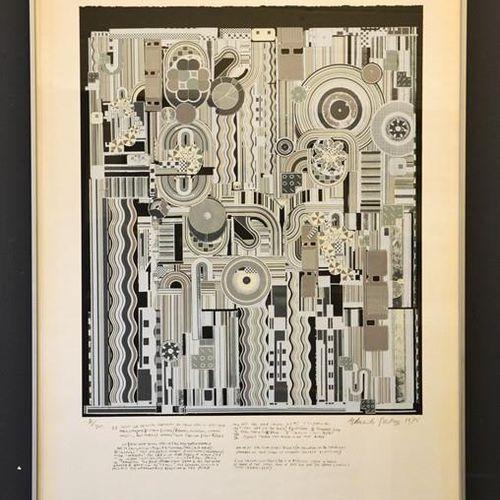 Eduardo Paolozzi (1924 2005) : Pièces pour orchestre, gravure sur bois, édition …
