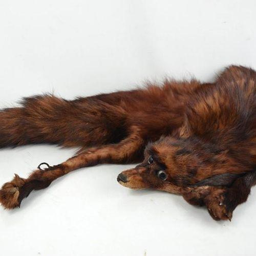 Une étole vintage en renard.