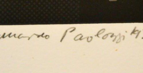 "Eduardo Paolozzi (1924 2005) Central Park in the Dark some 40 years ago"", gravur…"