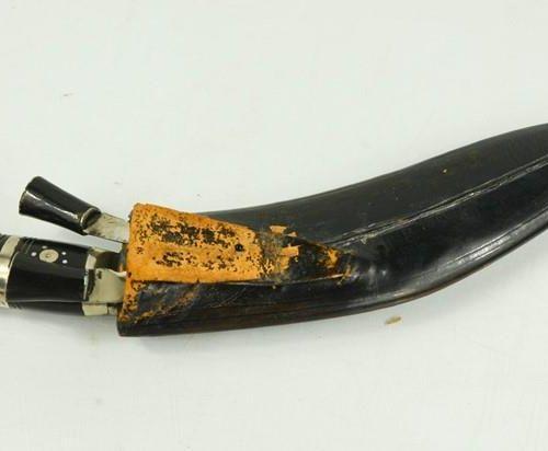 Un couteau vintage Gurkha.