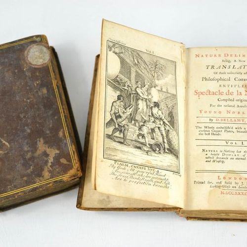 Deux volumes du Spectacle de la Nature, compilé à l'origine pour l'amusement rat…