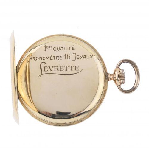 LEVRETTE. CHRONOMÈTRE 16 JOYAUX. POCKET WATCH. LEVRETTE. CHRONOMÈTRE 16 RUBIS.  …