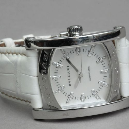 BVLGARI Bvlgari. Assioma. Reloj de pulsera de dama. Caja en acero, esfera de nác…