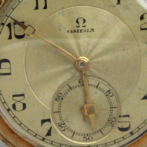 OMEGA Omega. Reloj de bolsillo, 1923. Caja en oro amarillo de 18 k. Labrado con …