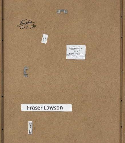 Fraser Lawson,  British b.1967  Guarumo Leaf, Slopes of Madera Volcano, Ometepe …